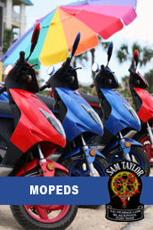 Mopeds At Sam Taylors